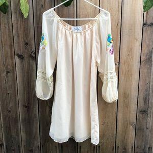 NWT - VaVa by Joy Han Peasant Dress